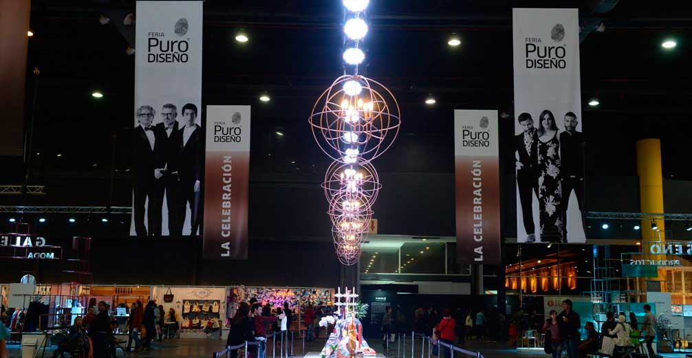 Finalizó la Feria PuroDiseño con record de convocatoria