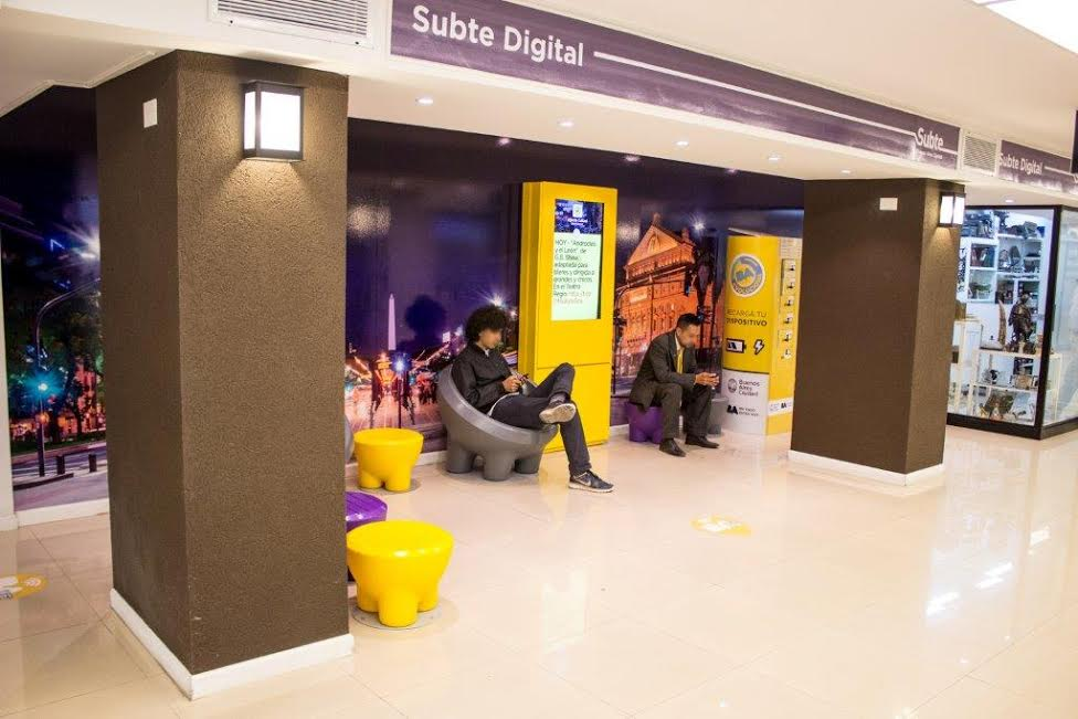 Incorporan WiFi gratuito en estaciones de subtes