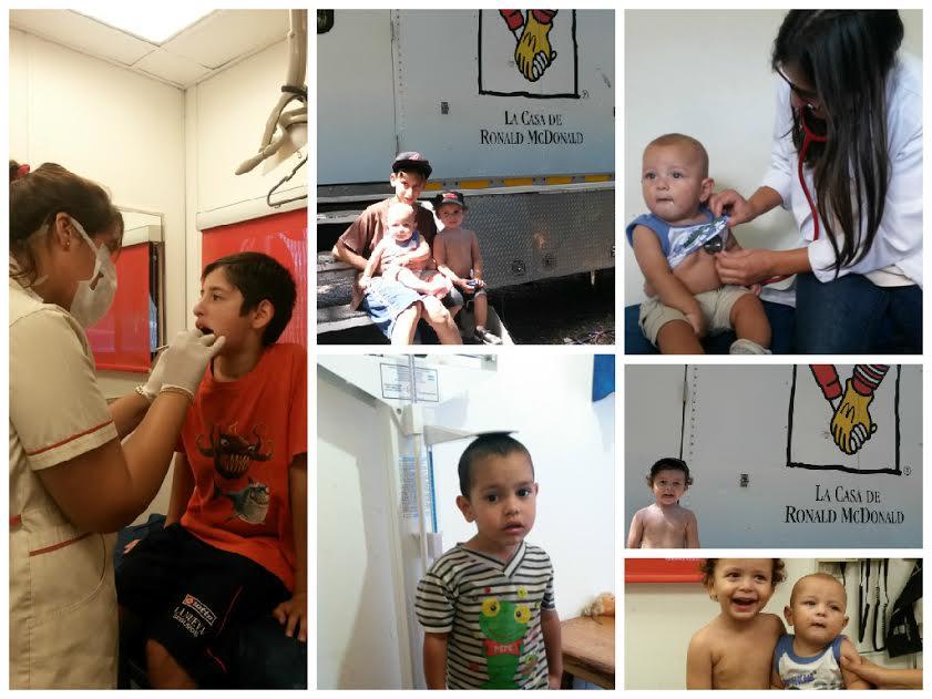 La Unidad Pediátrica Móvil brindó atención pediátrica y oftalmológica