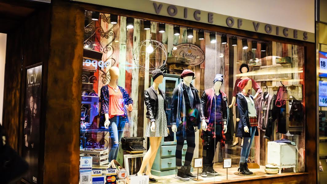 Nuevo local en el Abasto Shopping de VOV Jeans