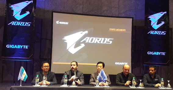 Gigabyte presentó AORUS en Argentina