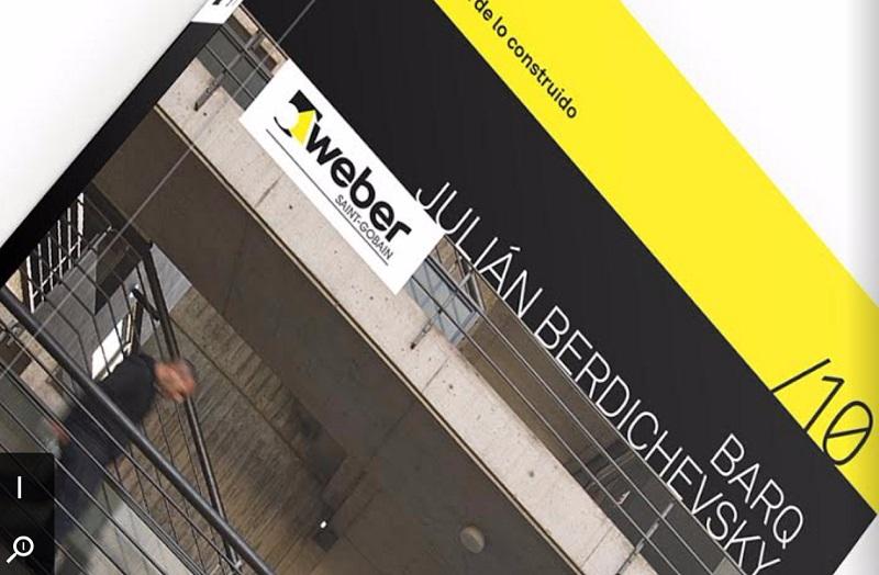 Weber presenta el décimo libro de la colección «El Material de lo Construido»