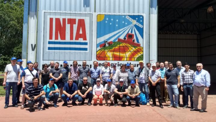 Comitiva rusa en INTA Manfredi y CAFMA