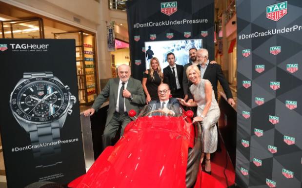 TAG Heuer lanza en Argentina el nuevo reloj Fangio