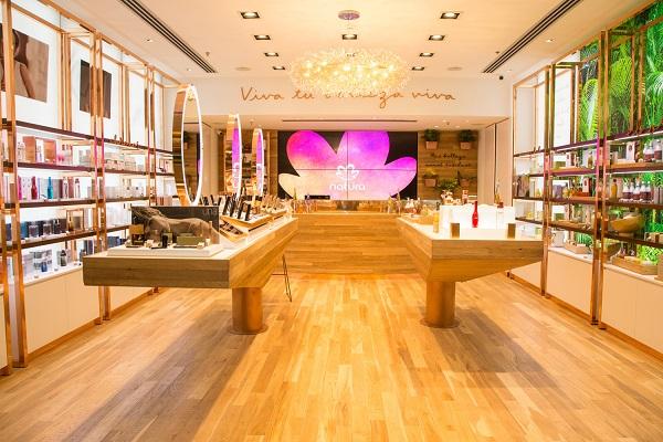 Natura abre su primera tienda oficial en la Argentina