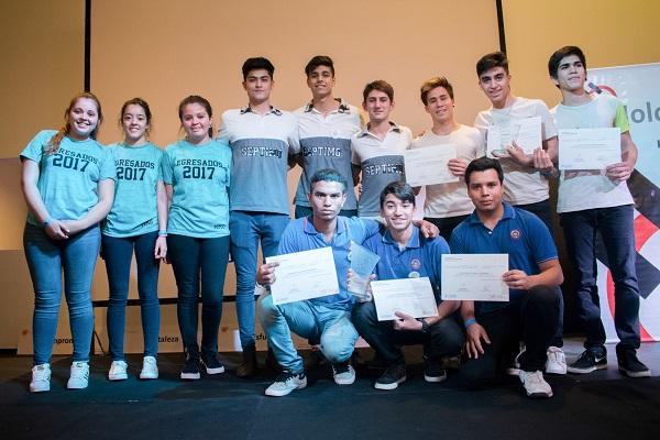 Alumnos participaron de la V Muestra de Escuelas Técnicas organizada por Fundación Holcim