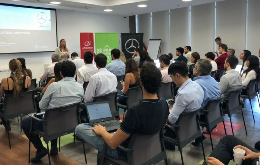 Andreani se sumó a la red de 'carpooling' corporativo de Mercedes-Benz