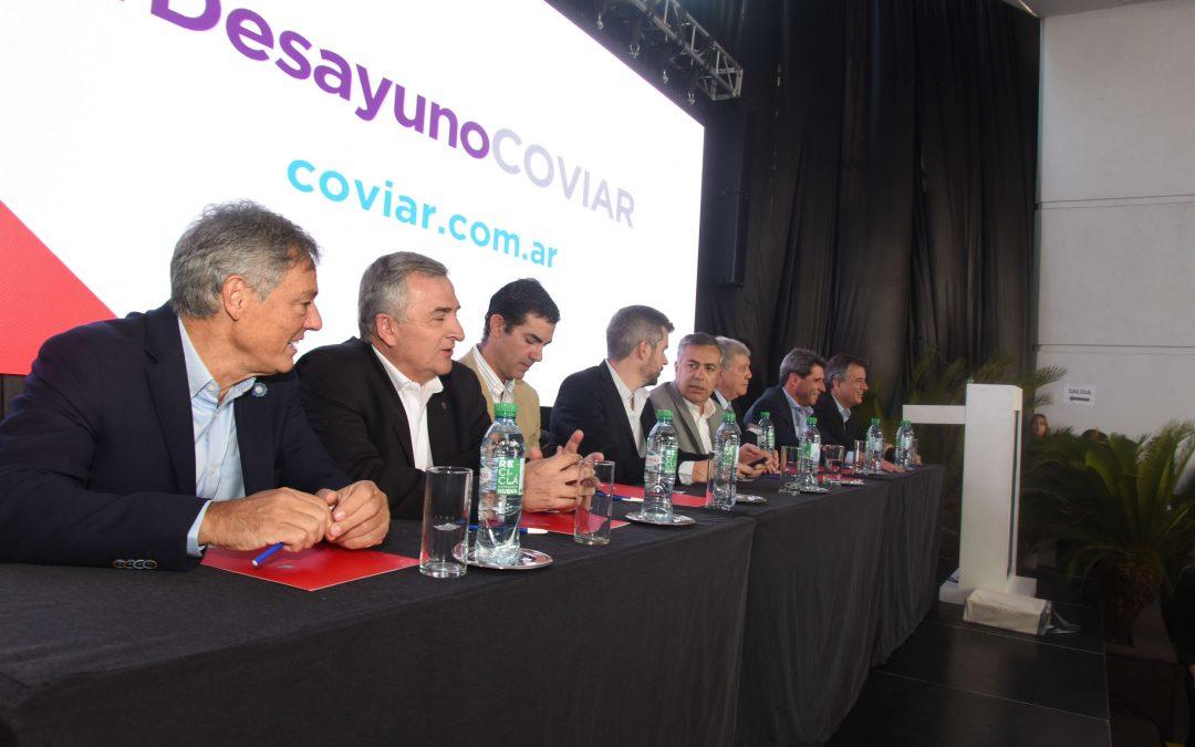 COVIAR presentó la visión de la vitivinicultura argentina