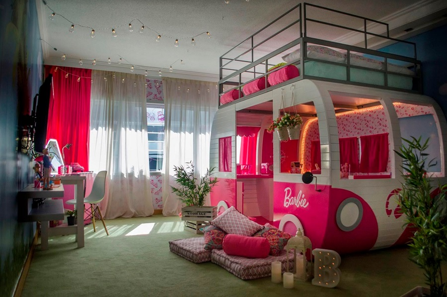 Barbie vuelve a Hilton Buenos Aires para presentar su nueva habitación temática
