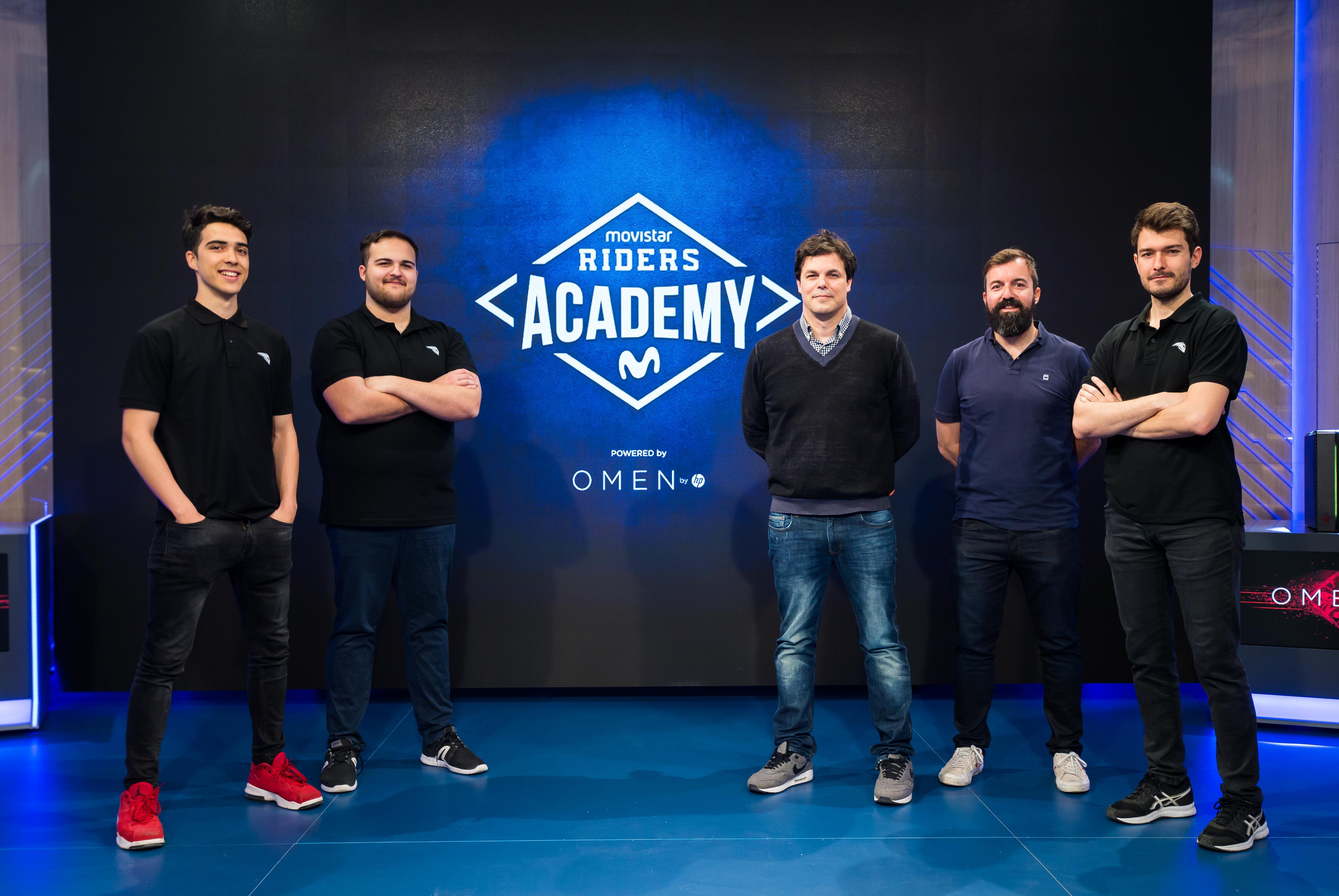 El club de eSports Movistar Riders y Telefónica presentaron Movistar Riders Academy