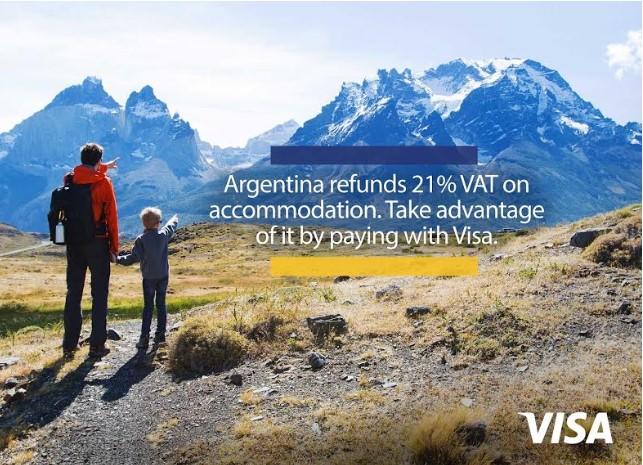 Visa lanza campaña internacional para estimular turismo extranjero en Argentina