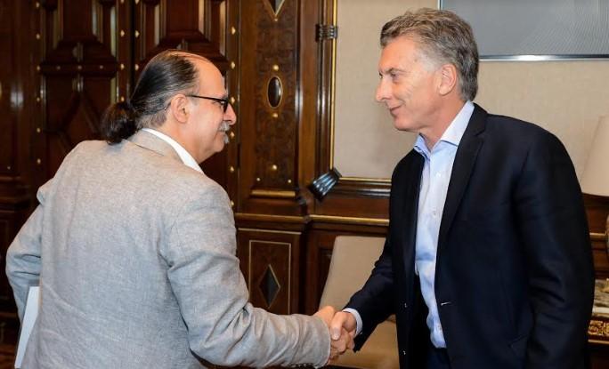 El Presidente Mauricio Macri recibió a los investigadores del proyecto del páncreas artificial