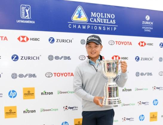Thomas Baik se quedó con el Molino Cañuelas Championship