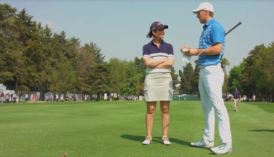 Lorena Ochoa conversa con Jordan Speith en la próxima edición de 'Vive el Golf'