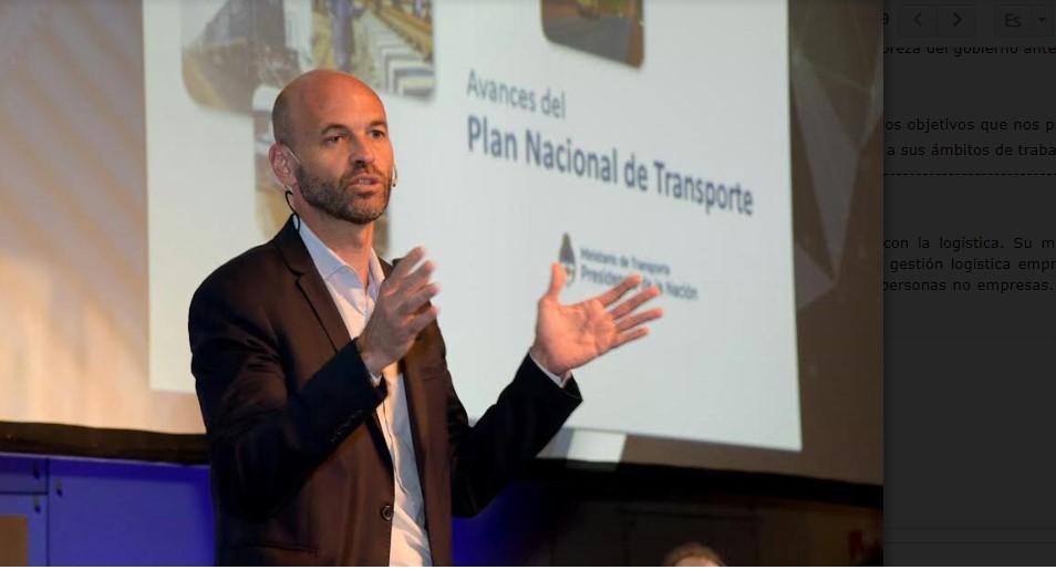 «Uno de los grandes desafíos del gobierno es hacer eficiente la logística»