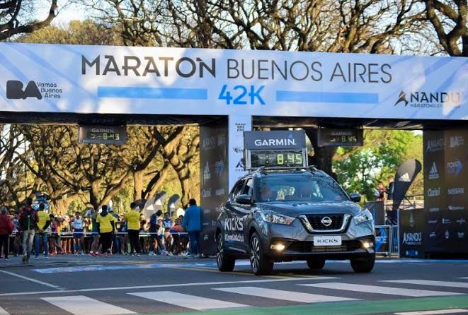 Nissan Kicks fue el guía de las Maratones de Buenos Aires
