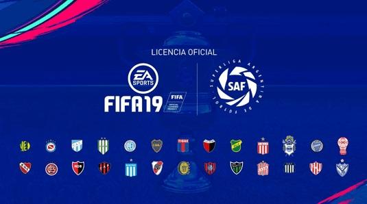 EA Sports FIFA 19 anuncia la incorporación de la Superliga Argentina