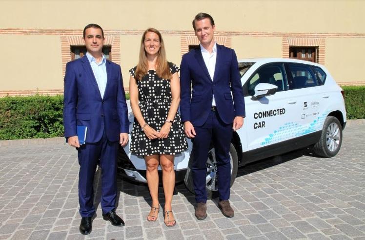 """Telefónica y SEAT presentaron """"Ciudades Tecnológicas 5G"""" en Segovia"""