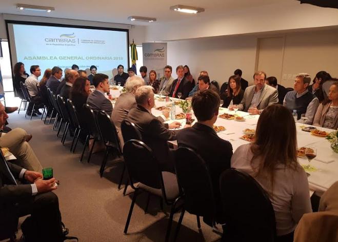 Jorge Zabaleta continuará en la Cámara de Comercio Argentino Brasileña