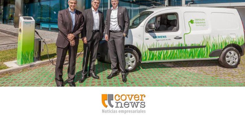 Siemens Argentina inaugura estación de carga para vehículos eléctricos