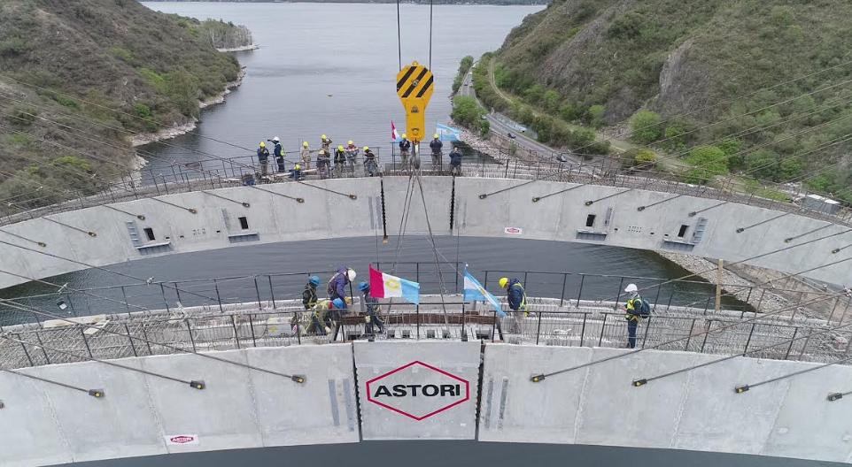 El Grupo Astori completó la construcción sobre el Lago San Roque