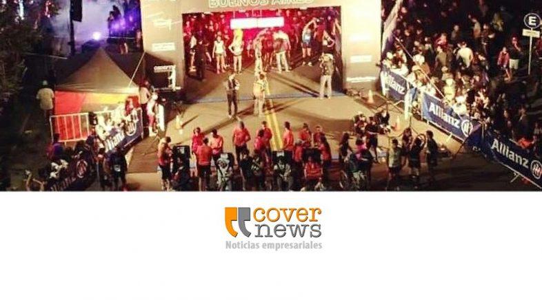 Allianz auspició la carrera Nocturna Buenos Aires