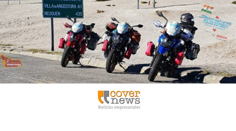 Travesía con motocicletas Bajaj Motorcycles por el continente americano