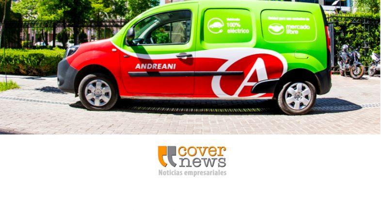 Mercado Libre genera alianza con Andreani para incorporar movilidad eléctrica en sus envíos