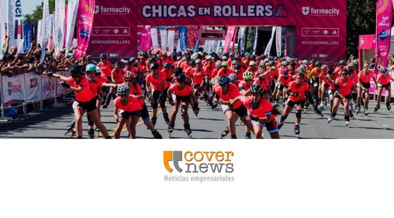 Séptima edición de Chicas en Rollers organizada por Farmacity