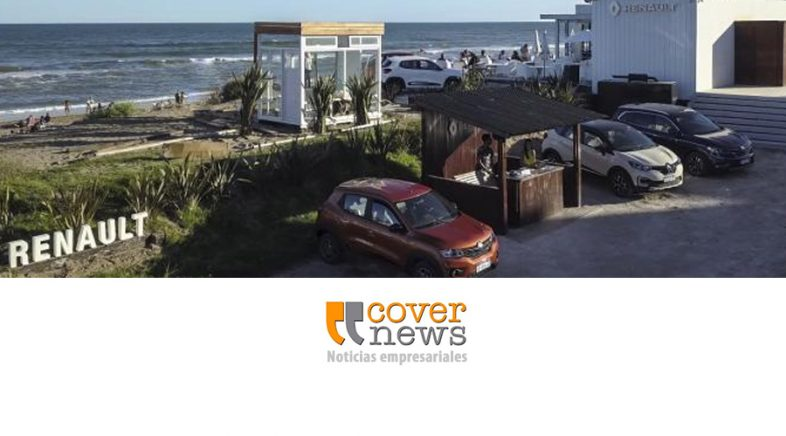 Renault presente en el parador UFO Point de la ciudad de Pinamar
