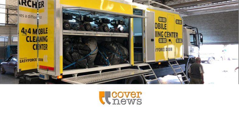 Kärcher estará en el Rally Dakar con el lavadero móvil que permite ahorrar agua