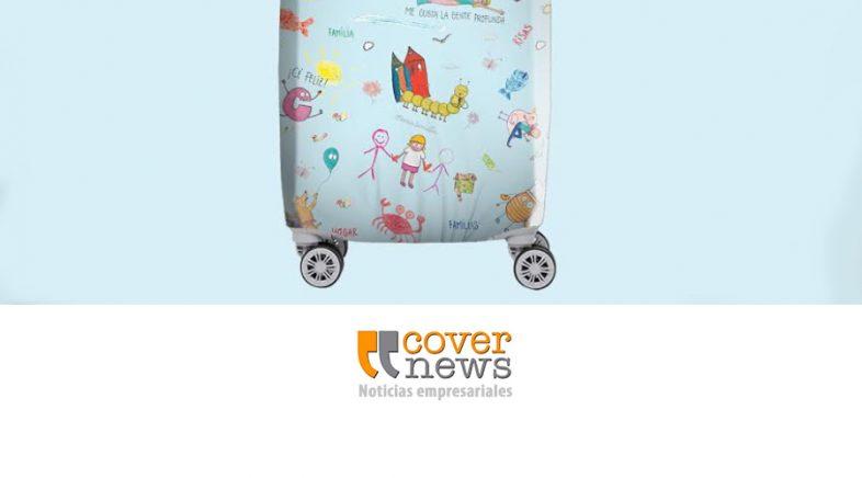 Edición especial de fundas de valijas a beneficio de La Casa Ronald