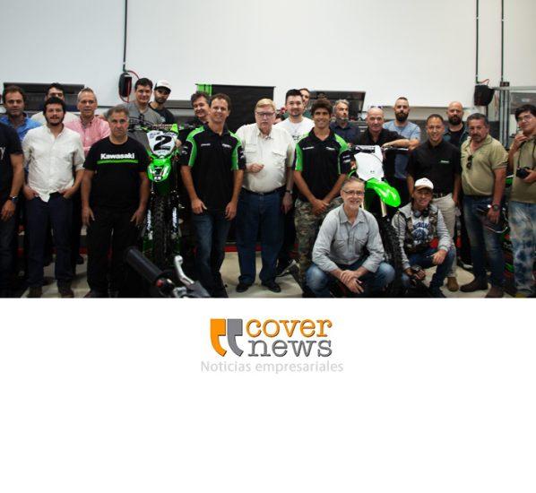 Kawasaki presentó al equipo que competirá en el MX Argentino