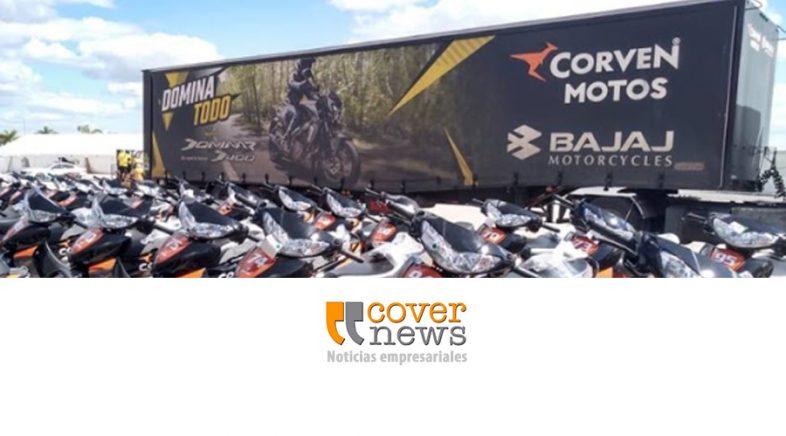 Corven Bajaj junto al MotoGP