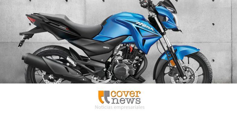 La marca india de motos Hero presentó en Argentina su nuevo modelo Hunk 200