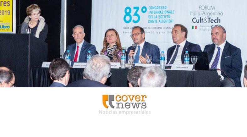 Forum Italia-Argentina Cult & Tech en el marco del Congreso Internacional de la Società Dante Alighieri