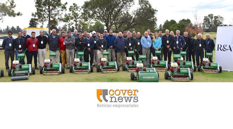 El Royal & Ancient Golf Club of St Andrews  entregó maquinaria a clubes argentinos de bajos recursos