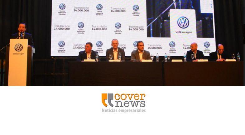 El Centro Industrial Córdoba de Volkswagen Group Argentina celebra 14 millones de transmisiones producidas
