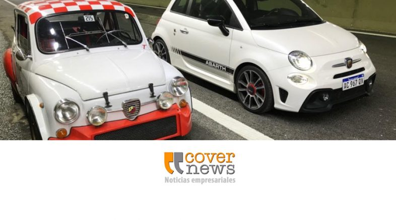 Fiat participó en la inauguración del paseo del bajo con autos de época
