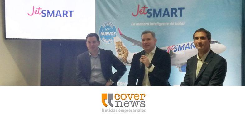 JetSMART duplica su flota en Argentina y anuncia cinco nuevas rutas de cabotaje en el país