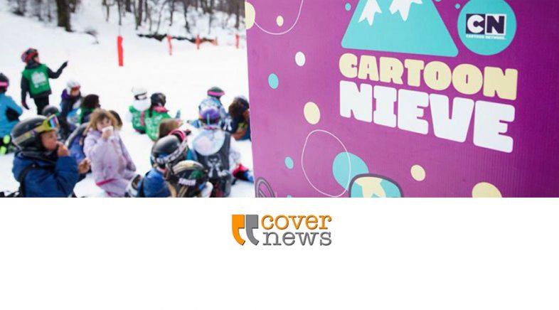 Turner estará presente en el Cerro Bayo y el Cerro Catedral con Cartoon Network
