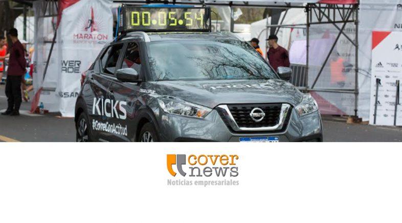 Nissan Kicks presente en las maratones de Buenos Aires