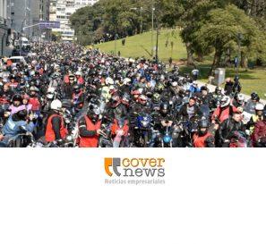 """Se llevó a cabo la Caravana Solidaria del KawaClub """"Todos al Garrahan"""""""