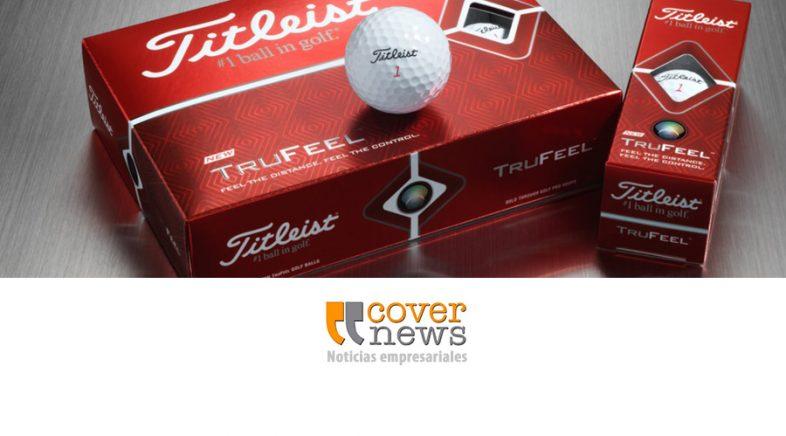 Titleist presenta su nueva pelota de golf TruFeel