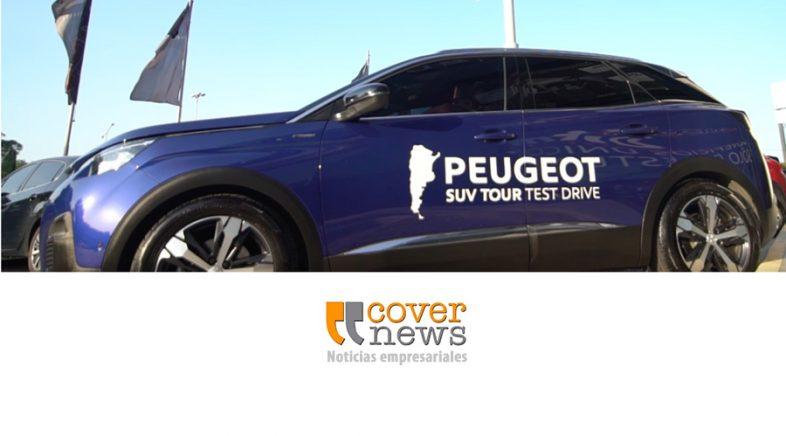"""Peugeot  lanzó a una acción de test drive denominada """"Peugeot SUV Tour"""""""