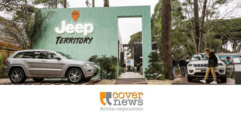 El Jeep Territory presente este verano en la Costa Argentina