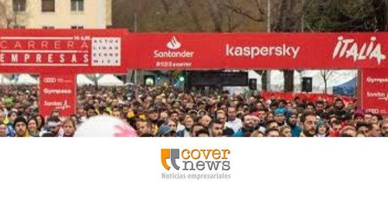 Más de veinte mil empresarios participaron de una carrera por las calles de Madrid