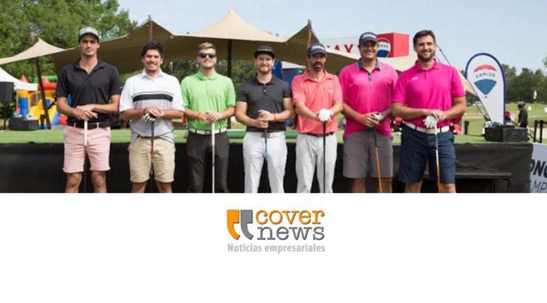 Fanáticos del golf se reunieron para ver a los pegadores más largos de la región