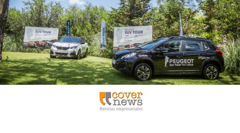 TOTAL acompaña al Peugeot SUV TOUR por todo el país