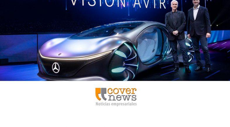 Mercedes-Benz presentó en CES un nuevo concepto de movilidad futurista